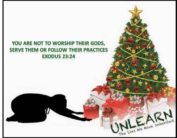do not worship their gods