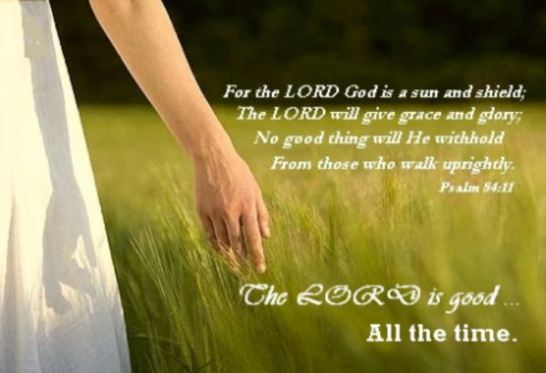 LORD is good